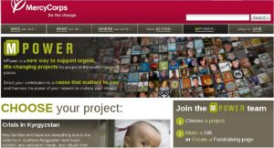MercyCorps and MPower