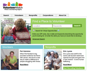 VolunteerMatch Where Volunteering Begins 300x244 Do you need some help? Where can you get it?
