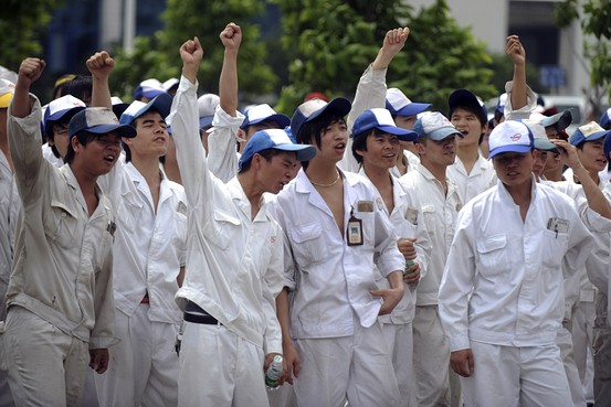 Chinese Workers Strike