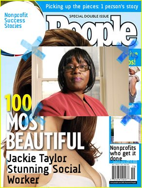 People Magazine Most Beautiful people: Social Worker