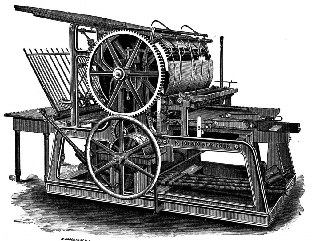Is your blog like a hungry printing press, waiting to be fed? What to do?