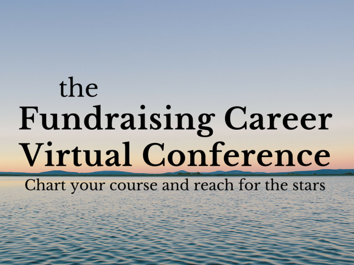 Fundraising Career Virtual Conference