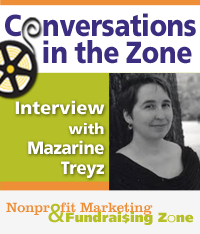 Mazarine Treyz Interview on Nonprofit Marketing Zone