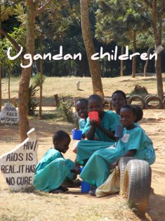 Ugandan kids are delightful and well-behaved