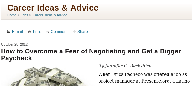 Case Study: How to negotiate your nonprofit salary?
