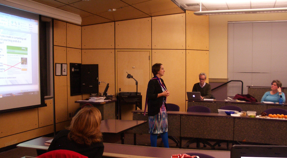 [PICS]: Speaking at the University of Portland Executive MBA in Nonprofit Management Program