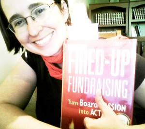 Fired Up Fundraising by Gail Perry book review by Mazarine Treyz