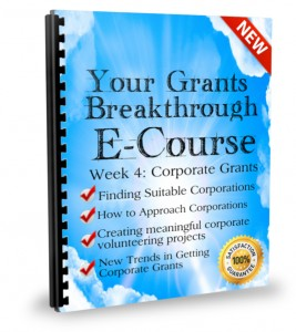 Week 4: Corporate Grants