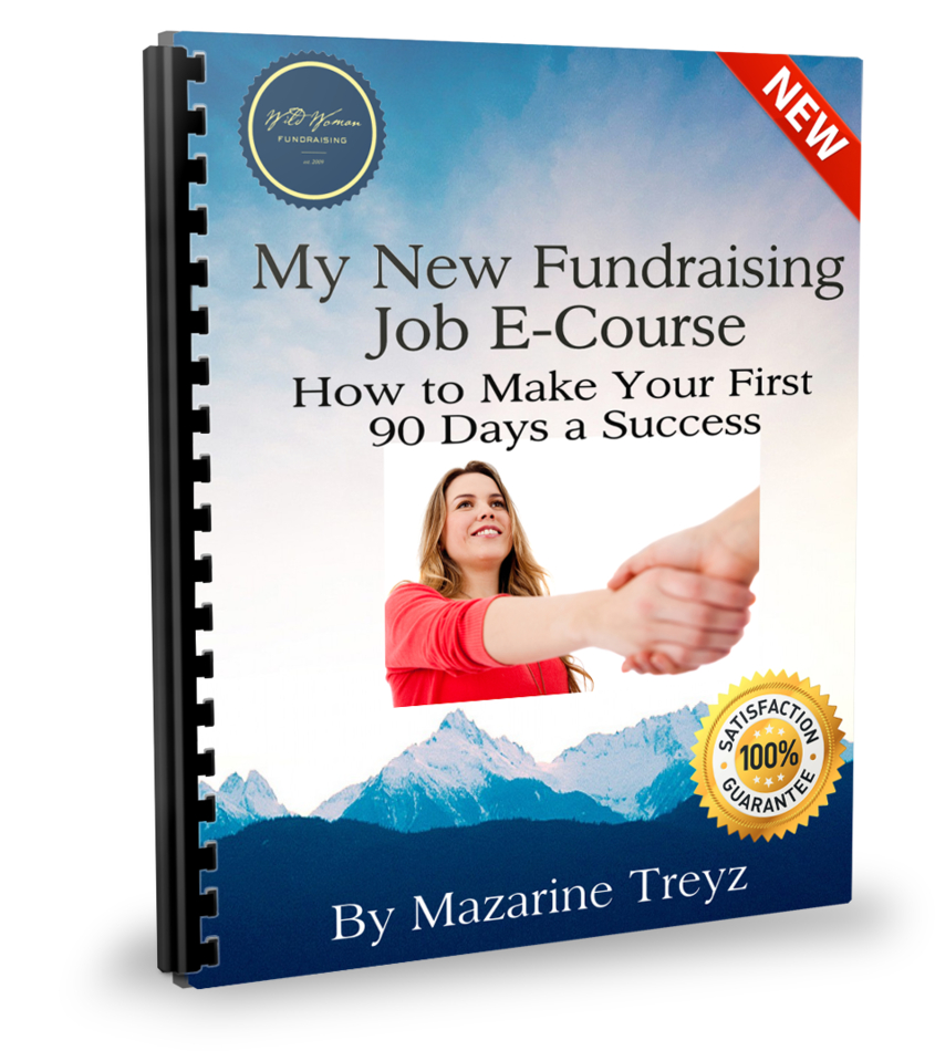 What to do in your first 90 days at a fundraising job