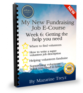 getting volunteers to fundraise