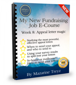 how to write nonprofit appeal eltter