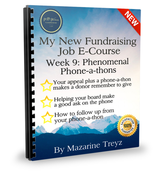 My New Fundraising Job 12 Week E-Course
