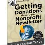 nonprofit newsletter, sample, how to make newsletter