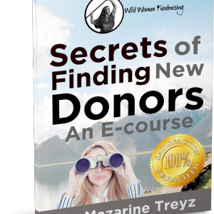 Secrets of finding new donors course