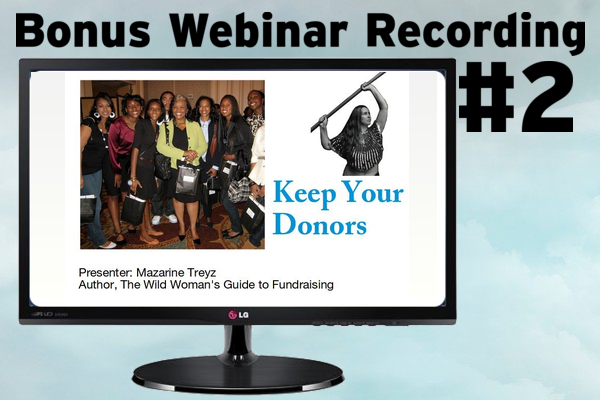 Bonus Webinar REcording: Keep Your Donors