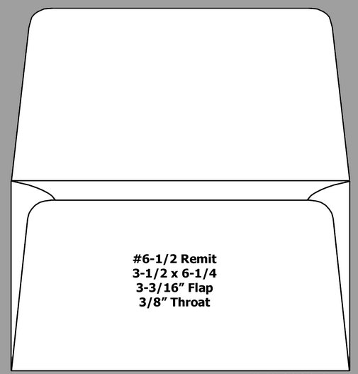 What is a remit envelope?