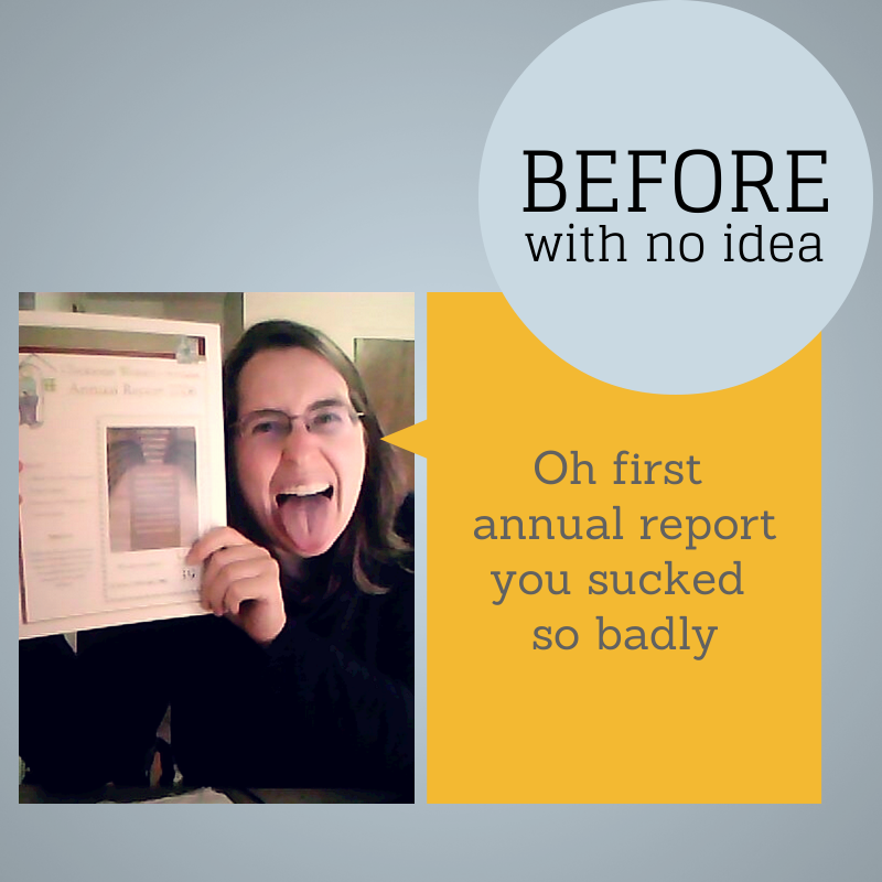 Before and After: How to improve your annual report cover
