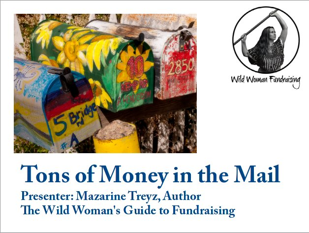 Tons of money in the mail webinar nonprofit