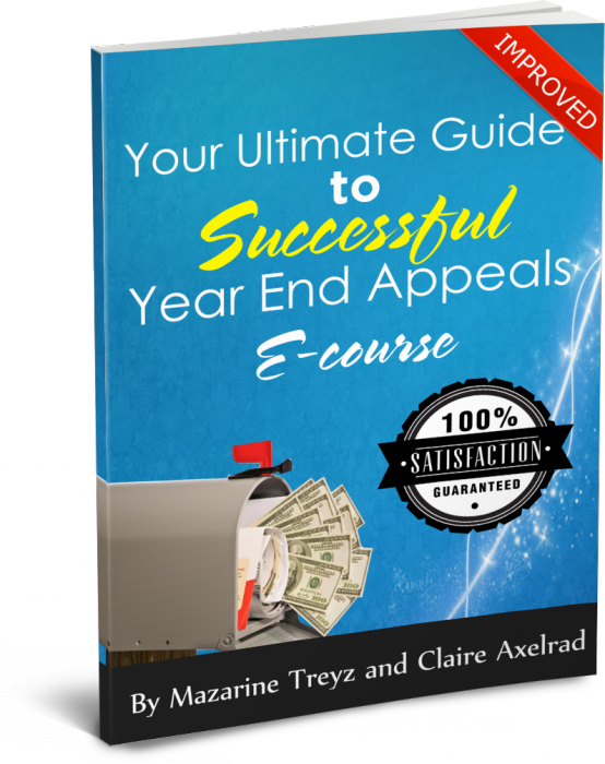 Thinking about your year end appeal?