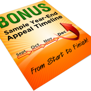 sample year end appeal timeline