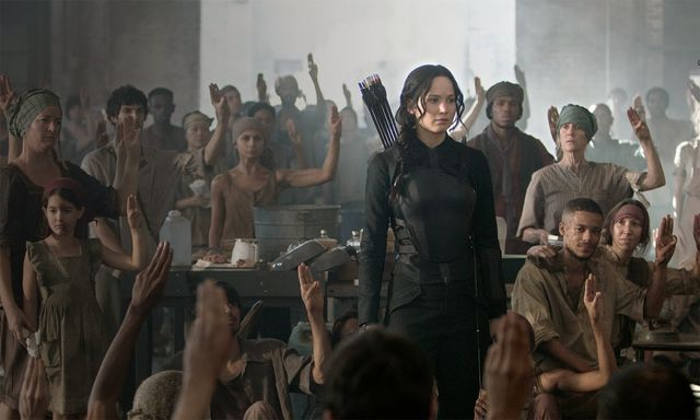 Katniss Everdeen in a hospital
