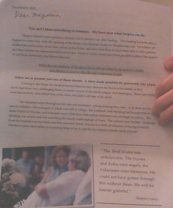 Sample Hospice Appeal letter