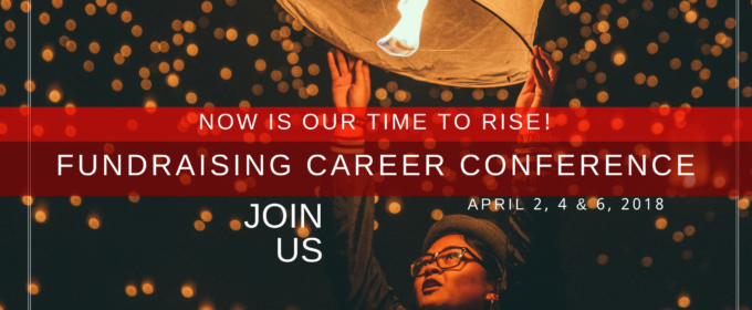Last Chance to Join us in the Fundraising Career Conference!