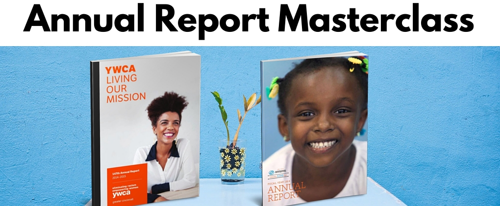 Join us for the Annual Reports Masterclass