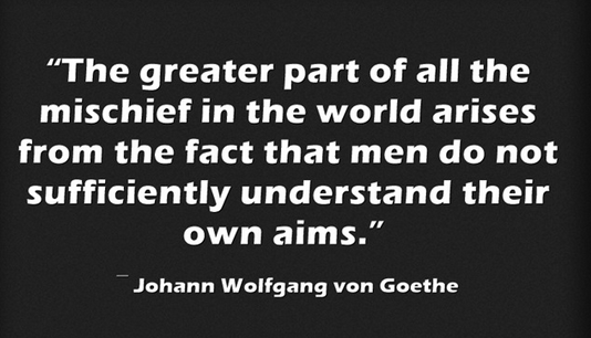 Goethe Quote on Fundraising