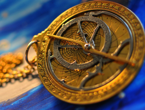 chaucer astrolabe