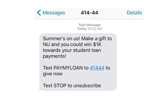 Northeastern Alumni Fundraising FAIL