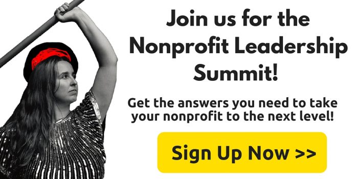 Register for the Nonprofit Leadership Summit