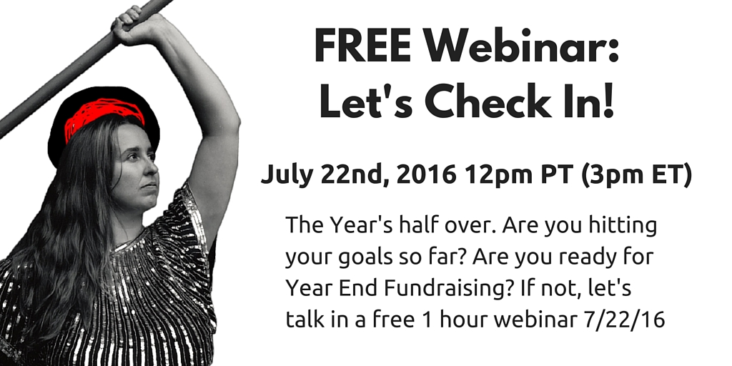 FREE WEBINAR: Checking In: How can we make the second half of the year better for you?
