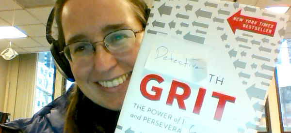 Here's a picture of the Grit book by Angela duckworth