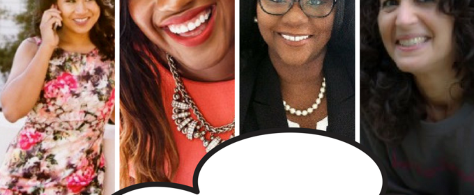 Astonishing! If you have more women of color presenting at a conference…