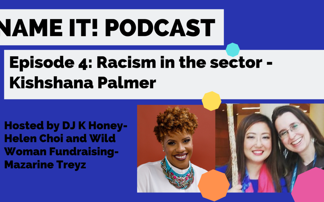 How does racism show up in the nonprofit workplace?