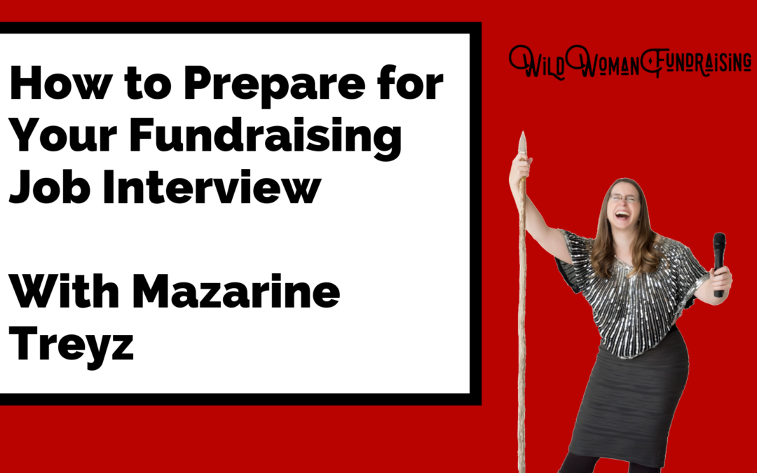 How to prepare for a fundraising job interview
