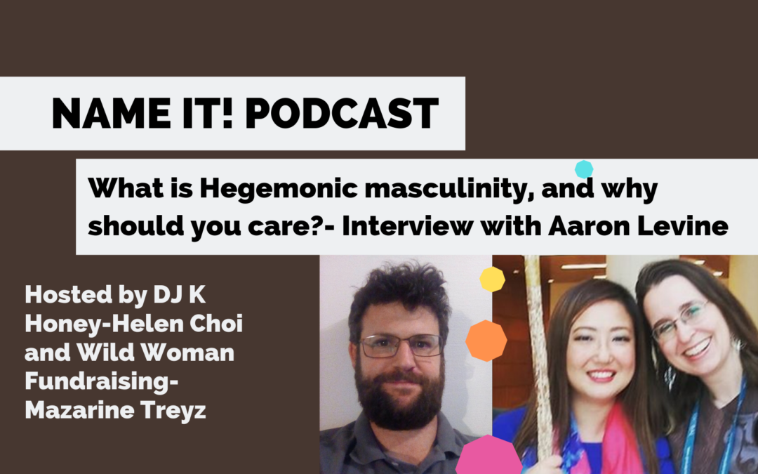This is why we have to Name It! PODCAST: Masculinities and Femininities at Work