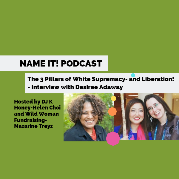 NAME IT! Podcast: Interview with Desiree Adaway-How white supremacy manifests inside our organizations