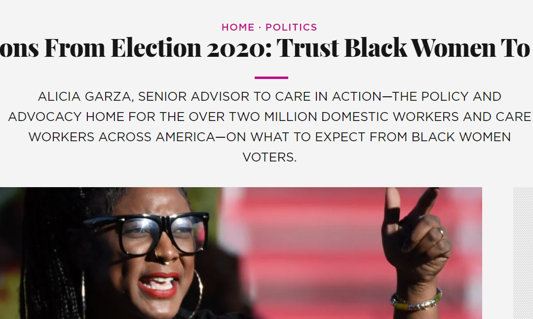 Trust Black Women To Lead